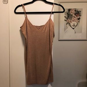 Dresses & Skirts - Dusty pink silky dress